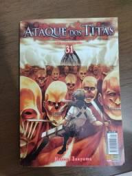 Mangá Attack Ok Titan Volume 31