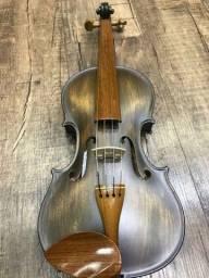 Violino 4/4 Rolim premium Madeira Araucaria Vintage Fosco Orquestra Ccb