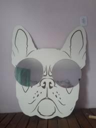Decoração cachorro com espelho