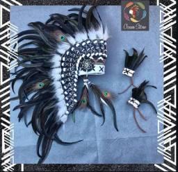 cocar indígena americano