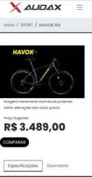 Vendo ou troco bike Audax 6061
