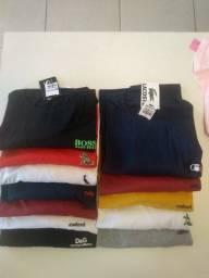 Camisa básica lisa diversas marcas