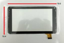 Tela Touch Tablet Hyundai Hdt-7433l Hdt7433 Preto