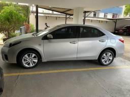 Toyota corolla gli upper 1.8 2015/2016 automático/banco de couro - 2015