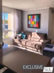 Apartamento três dormitórios com móveis sob medida no Garden Clube House.