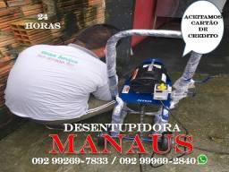 Título do anúncio: ENTUPIU Desentupidora Manaus