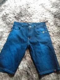 Bermuda reserva jeans