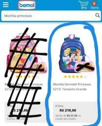 Vendo mochila princesa