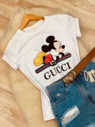 T-shirt Luxo Gucci