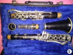 Clarinete Selmer Henri Paris Depose 21 chaves profissional Made in France