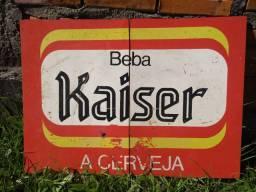 Placa Kaiser antiga