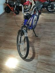 Bikelete motorizada caicara 75 cc(necessita reparo motor,com motor novo 1350,00)