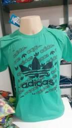 Camisetas masculinas várias marcas famosas