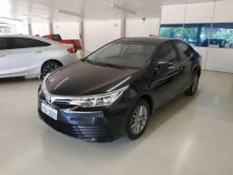 Toyota corolla gli upper 2018,único dono!!!