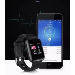 Relógio Inteligente Curvo Assistente Digital D13