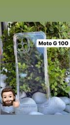 Título do anúncio: capa trasparente moto g100