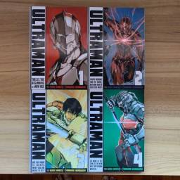 Volumes do 1 ao 4 de Ultraman (mangá)