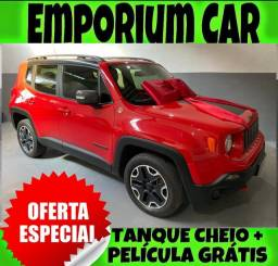 Título do anúncio: NA EMPORIUM CAR!!! JEEP RENEGADO 2.0 4X4 DIESEL TRAILHAWK AUTOMÁTICO ANO 2016
