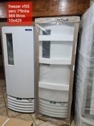 Título do anúncio: Freezer zero na cx  primeira linha nota fiscal garantia de fábrica 2 anos