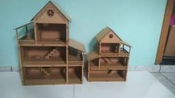 Casa de boneca mdf montada