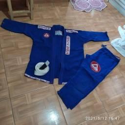 Kimono Jiu-jitsu Masculino Azul A4