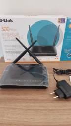 Título do anúncio: Desconto: Roteador e Repetidor D-Link Wireless N300 - DIR-615