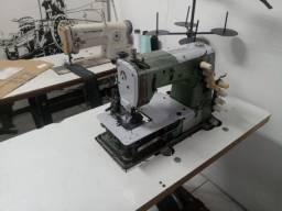 Máquina elástiqueira 4 agulhas kansai special revisada