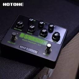 Pedal Hotone Bass + Pre Amp Contra Baixo