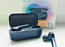 Fone Bluetooth QCY T5 (modo gamer)