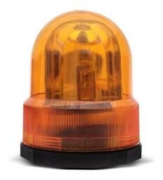 Giroflex Luz De Emergência Sinalizador 12v Giratório