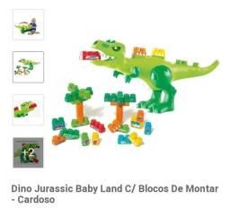 Título do anúncio: Dino Jurassic Baby Landy com Bloco de montar