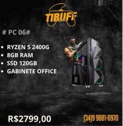 PC Gamer - Ryzen 5 2400g - 8GB - SSD