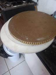 Vendo tudo das fotos. Formas de bolo redonda, quadrada, retangular...