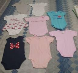 Título do anúncio: Qualquer Roupa de Bebê Body Menina