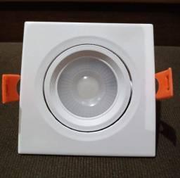 Título do anúncio: Spot led embutir 5w quadrado sanca gesso teto