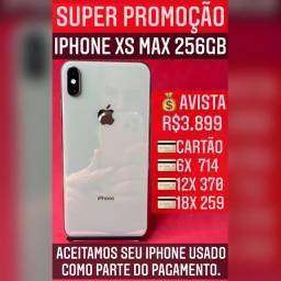 iPhone XS Max 256gb gold, aceitamos seu iPhone usado como parte do pagamento