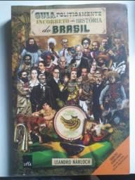 Livro guia politicamente incorreto da história do Brasil
