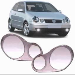 Título do anúncio: Par de Lentes Farol Polo 2003 2004 2005 2006 Volkswagen Polo 9N