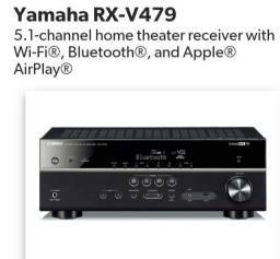 Receiver Yamaha RX-V479 Novo