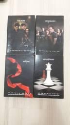 livros a saga crepúsculo<br><br>