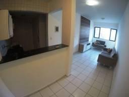 Apartamento super aconchegante com 1/4 e 38,25 m² localizado na Ponta Verde