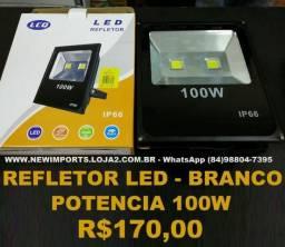 Refletor de LED ( Branco Frio ) 100W
