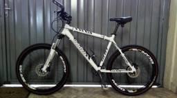 Bike venzo toda shimano Acera 27v freio hidráulico