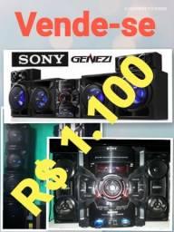 Minisystem Sony gtr777 1000watts RMS