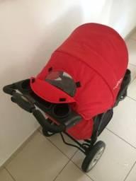 Vendo carrinho com bebê conforto triciclo Lenox kiddo