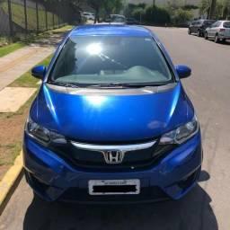 Honda fit ex cvt 2015 automático azul - 2015