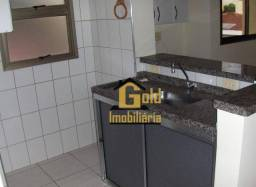 Apartamento com 1 dormitório para alugar, 40 m² por R$ 620,00/mês - Jardim Macedo - Ribeir