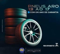 Com a rl pneus você sai feliz