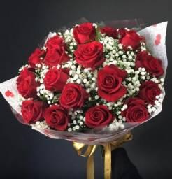 Buquê rosas Promoção 49,90