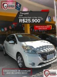 Peugeot 208 Active/Active Pack 1.5 Flex 8V 5p - 2014